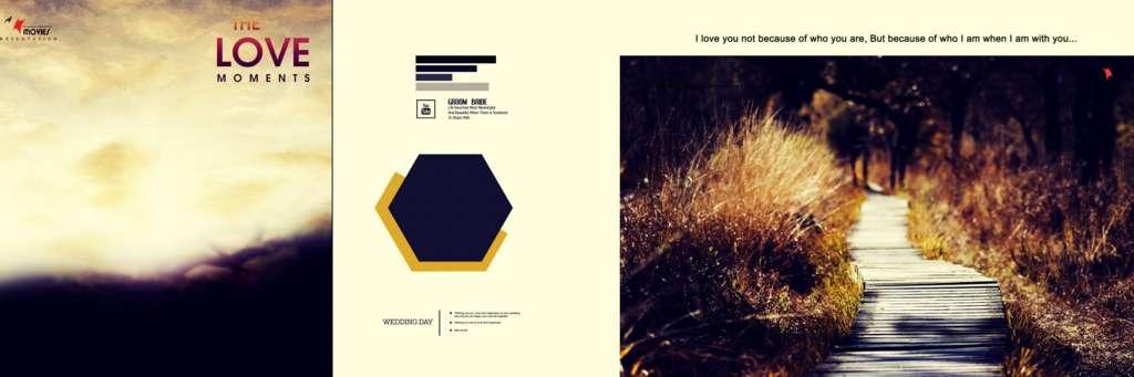 Pre Wedding Album Design